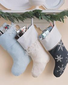 Sapatinhos para decoração de Natal
